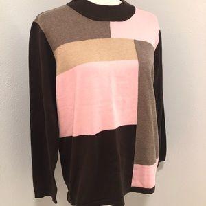 Sweater Allison Daley P/large ladies 3/$15